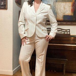 NWT vintage Worthington pinstripe suit